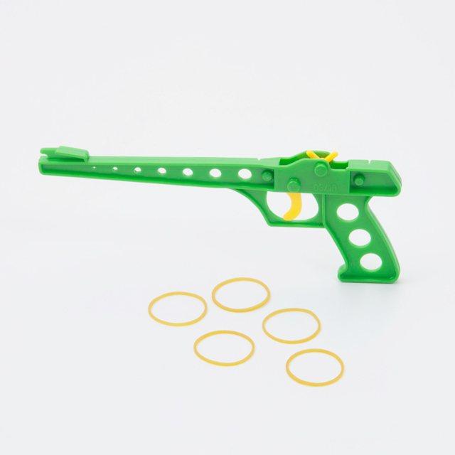 輪ゴム銃(4連発)